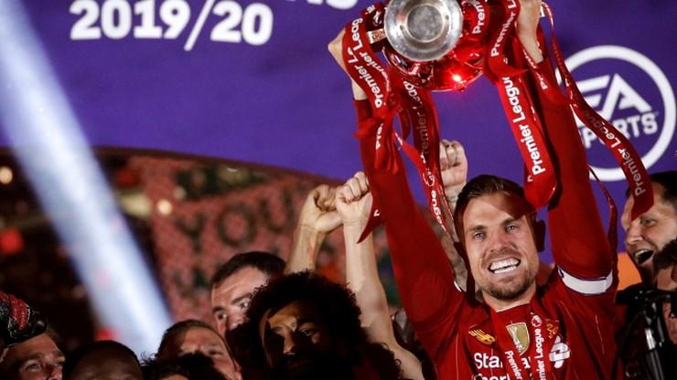 Premier League: Jordan Henderson piłkarzem sezonu. Liverpool na topie