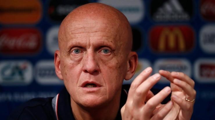 Collina nie jest już szefem sędziów UEFA