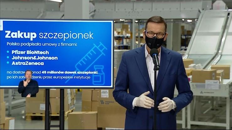 Darmowe szczepienia Polaków na Covid-19. Premier o szczegółach