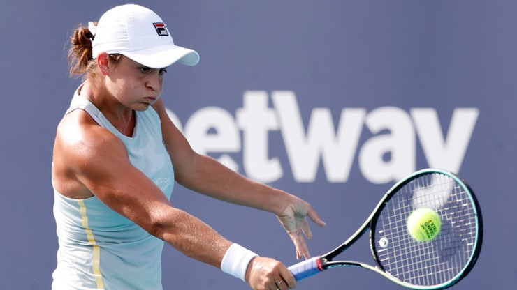 WTA w Miami: Ashleigh Barty powtórzyła sukces z 2019 roku