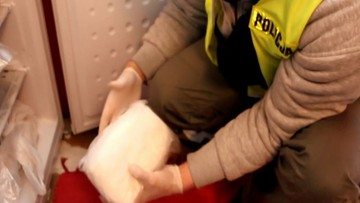 72 kg narkotyków przejęto w kilku wrocławskich mieszkaniach