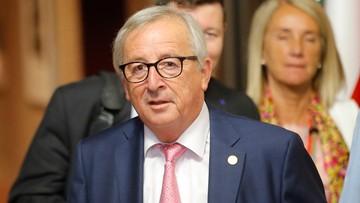 Juncker: nie ma formalnej decyzji ws. uruchomienia procedury naruszenia prawa UE wobec Polski