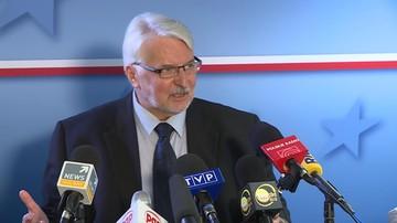 """""""Oskarżenia Polski o autorytaryzm są błędne"""" - Waszczykowski w wywiadzie dla BBC"""