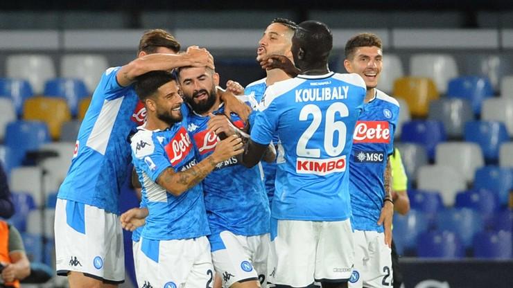 SSC Napoli pokonało US Sassuolo. Grali Arkadiusz Milik i Piotr Zieliński