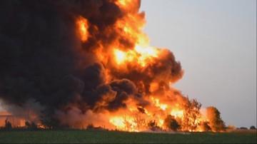 Kolejny pożar składowiska śmieci. Płonęły niebezpieczne odpady, rozprzestrzeniał się toksyczny dym