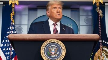 Trump: demokracja w USA zagrożona. Telewizje przerwały jego przemówienie