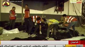 Libia: bomby spadły na areszt dla nielegalnych imigrantów. Zginęło 40 osób