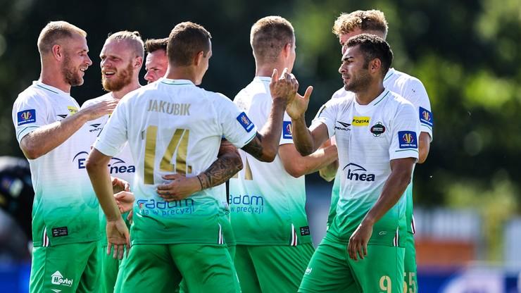 Fortuna 1 Liga: Karol Angielski z dubletem. Cztery gole w Radomiu