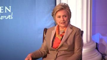 Hillary Clinton: gdyby nie list szefa FBI, wygrałabym wybory