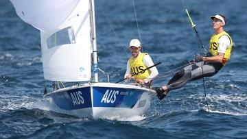 Tokio 2020: Mathew Belcher i Will Ryan mistrzami olimpijskimi w żeglarskiej klasie 470