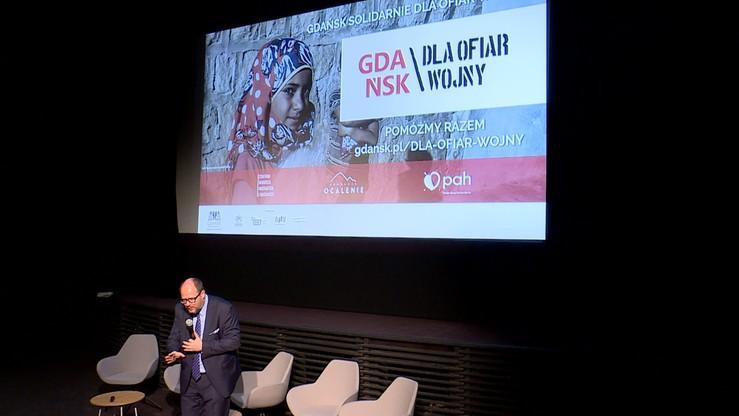 """Kampania """"Gdańsk solidarnie dla ofiar wojny"""". Ma zachęcać do pomocy uchodźcom"""