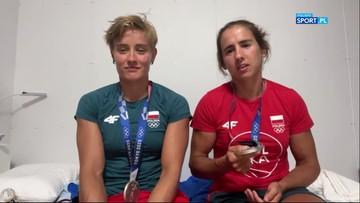 Tokio 2020: Katarzyna Zillmann i Maria Sajdak skomentowały zdobycie srebrnego medalu
