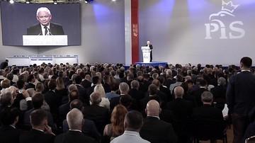 """""""Idziemy we właściwym kierunku, realizujemy prawa Polaków"""". Kongres PiS i konwencja Zjednoczonej Prawicy"""