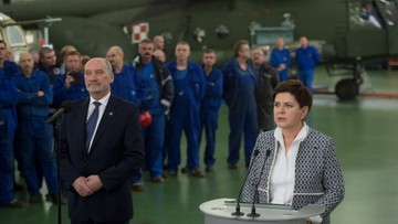 W zakładach w Łodzi powstanie centrum serwisowe helikopterów wojskowych