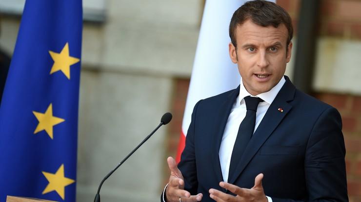 """Macron krytykuje polski rząd. """"Stawia się na marginesie Europy"""""""