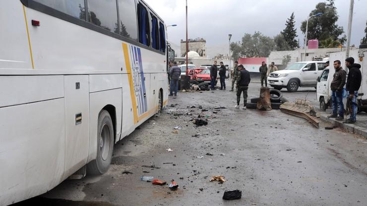 Atak na autobusy z pielgrzymami. Co najmniej 40 ofiar w Syrii