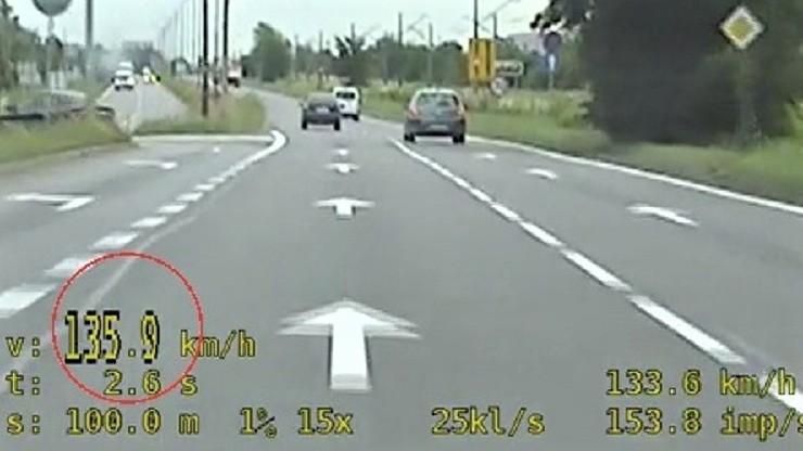 Przekroczył prędkość o 85 km/h. Tłumaczył, że nie zna polskich przepisów