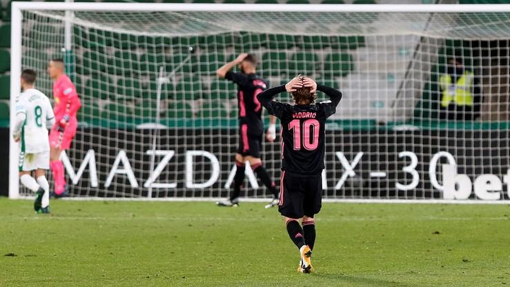 La Liga: Wpadka Realu Madryt w Elche