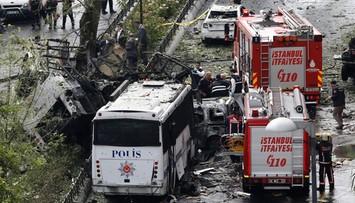 Zamach bombowy w centrum Stambułu