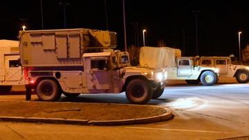 Pierwsze kolumny wojskowe z USA wjechały do Polski