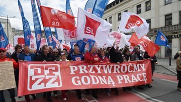 """Święto Pracy w Warszawie pod hasłem """"Przywróćmy godną pracę"""""""