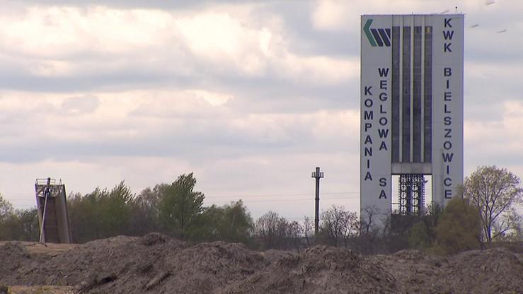 Wstrząs w kopalni Bielszowice: nie żyje 51-letni górnik, trzech jest rannych