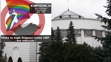 Homoseksualizmem można się zarazić - twierdzi psycholog, który we wtorek wystąpi w Sejmie