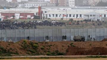 Starcia w Strefie Gazy. Zginęło trzech Palestyńczyków, a rany odniosły setki osób