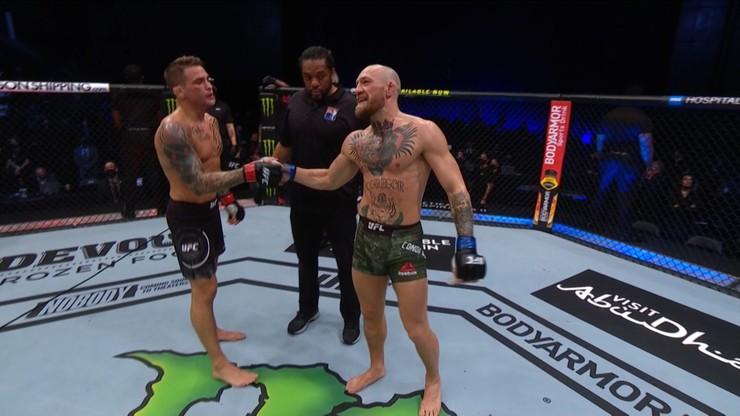 UFC 257: To był nokaut! Zobacz, jak przegrał McGregor (WIDEO)