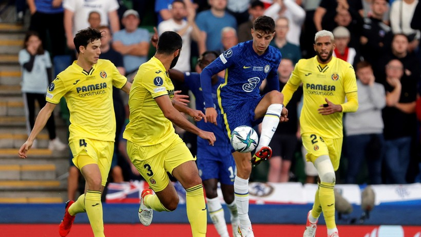 Superpuchar Europy: Chelsea - Villarreal. Skrót meczu (WIDEO) - Polsat Sport