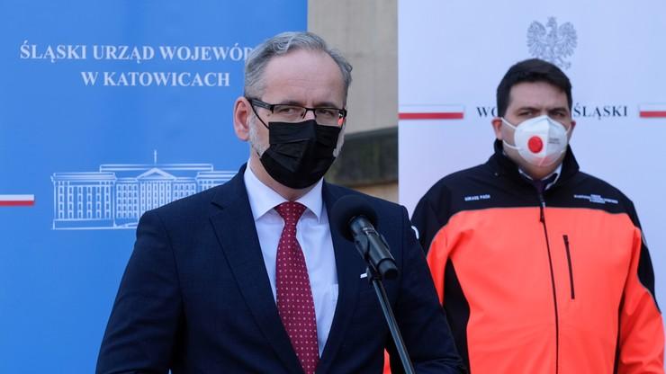 """""""Sytuacja na Śląsku jest krytyczna"""". Minister zapowiedział relokację pacjentów"""