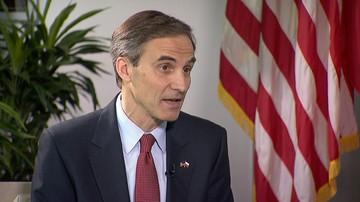 """""""Konsultacje w kwestii bezpieczeństwa"""". Wywiad z ambasadorem USA przed wizytą Donalda Trumpa w Polsce"""