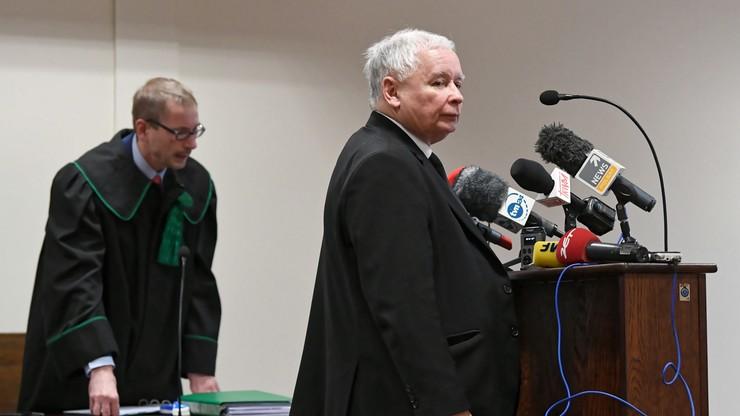 Kaczyński przed sądem: nie wydawałem bratu żadnych poleceń w trakcie lotu do Smoleńska
