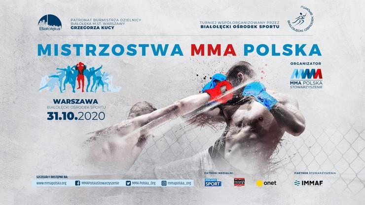 Pierwszy turniej Mistrzostw MMA Polska już w październiku!