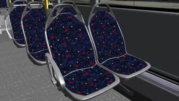 Krzesła niszczące koronawirusa. Pojawią się w autobusach