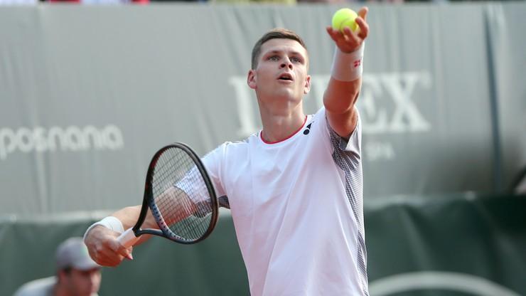 ATP w Montpellier: Porażka Huberta Hurkacza. Zła passa trwa