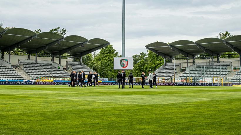 Część stadionu Miedzi zamknięta na mecz z Odrą