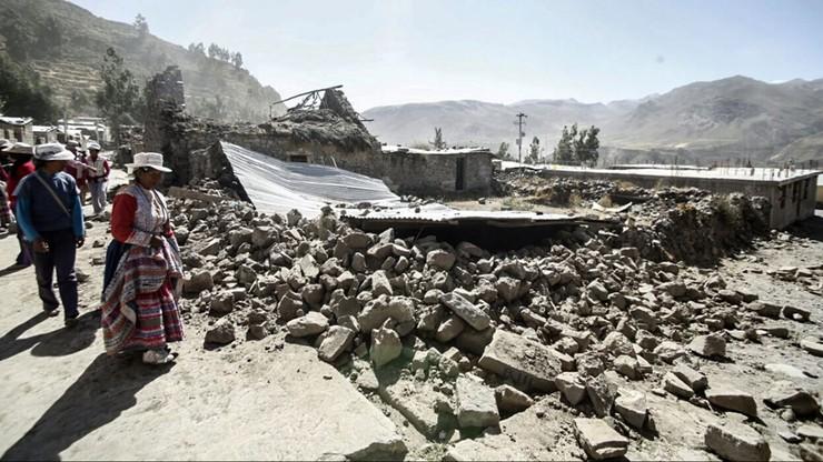Trzęsienie ziemi w Peru. Są ofiary i ranni