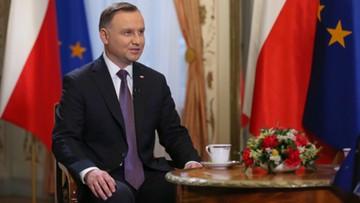 """""""Istotna będzie postawa kandydatów"""". Duda o wyborze I prezesa SN"""