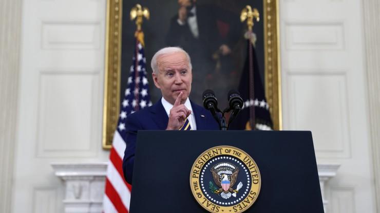 Biden zaapelował do Amerykanów, aby się szczepili. Ostrzegł przed wariantem Delta