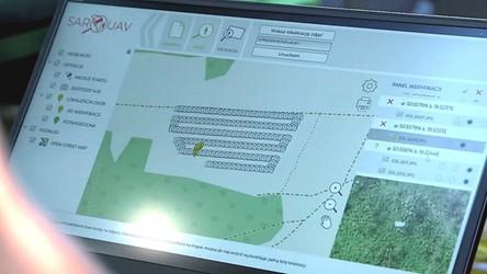 Dron z polskim oprogramowaniem SARUAV uratował życie człowiekowi