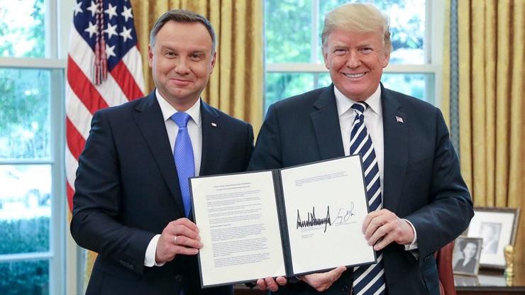 Prezydent: szyderstwa i napad lewackich mediów pokazują sukces wizyty w Waszyngtonie