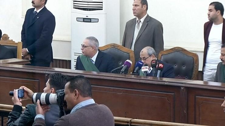 Były prezydent Egiptu skazany za obrazę władzy sądowniczej
