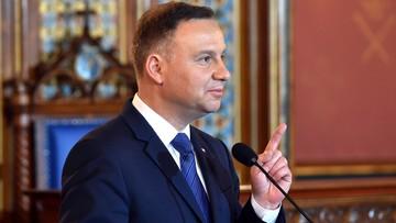 Prezydent Duda: dokonywane w Polsce zmiany wynikają z decyzji obywateli