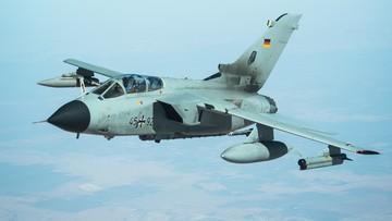 Od myśliwca Bundeswehry odpadły dwa zbiorniki paliwa