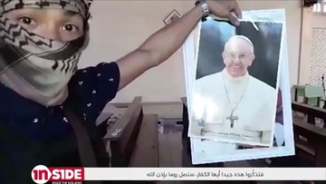 """""""Będziemy w Rzymie"""". ISIS grozi papieżowi"""