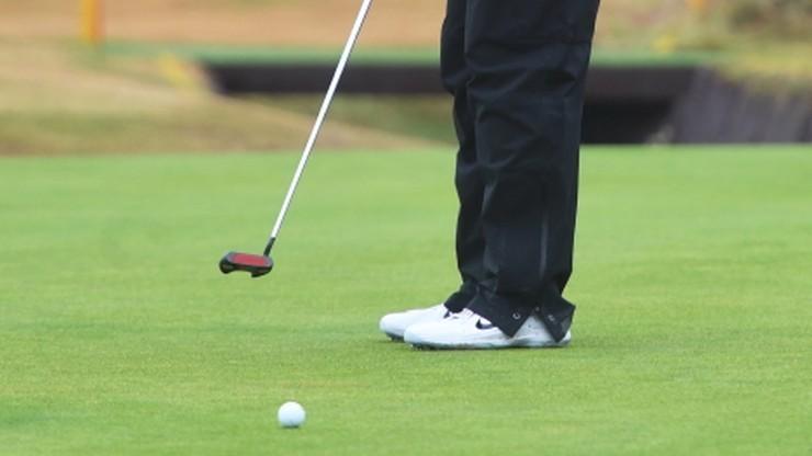 Skandaliczne zachowanie pijanego golfisty