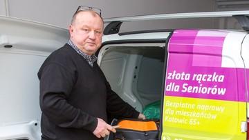 """Katowice: seniorzy do usterki mogą bezpłatnie wezwać """"złotą rączkę"""""""