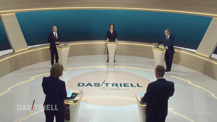 Niemcy. Debata kandydatów na kanclerza. Różne wizje rządzenia krajem