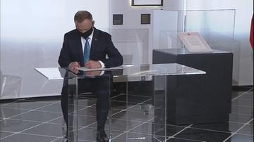 Prezydent podpisał ustawę o odbudowie Pałacu Saskiego w Warszawie